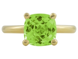 Cocktail ring med peridot