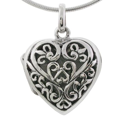 hjertesmykker i sølv