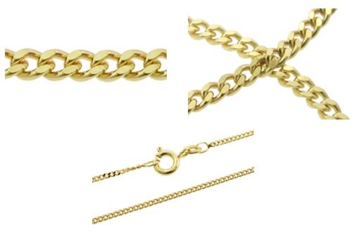 guldkæde 80 cm