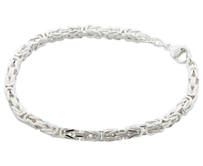 konge armbånd sølv