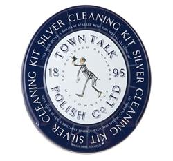 Pudseklud til rensning af sølv - Smykkebutikken