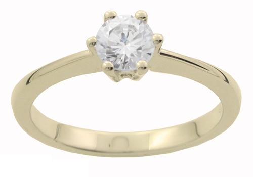 stor diamant ring