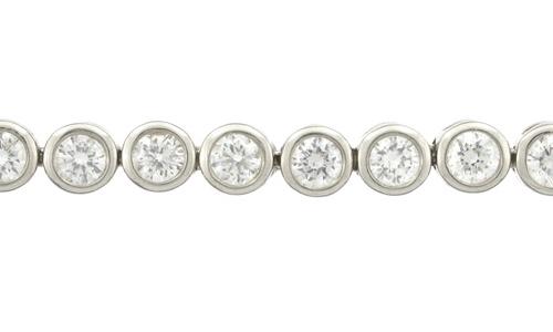562bbec617f0 Tennis armbånd i hvidguld med diamanter - Smykkebutikken